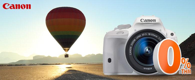Canon EOS 100D digitális fényképezőgép 0% THM hitelre!