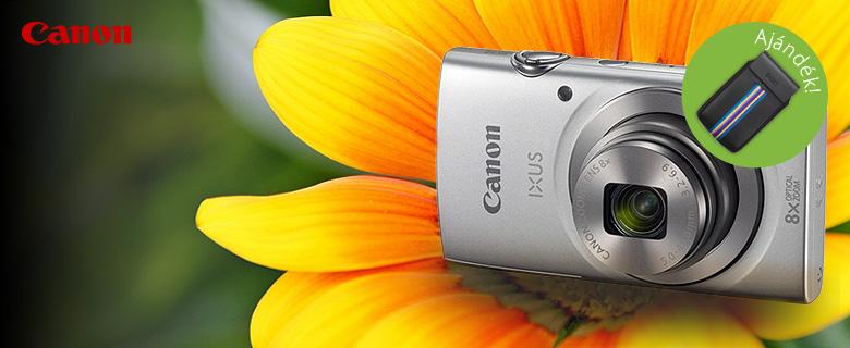 Canon Ixus 175 fényképezőgép bőrtokkal