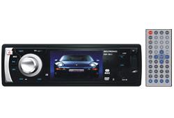 "Seltronic KSF-3011 DVD/DivX 3"" LCD kijelzős fejegység"